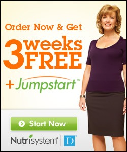 NEW offer from Nutrisystem: 3 weeks free + free Jumpstart Kit!