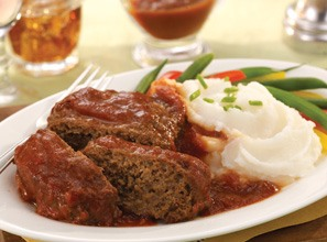 Meatloaf & Mashed Potatoes