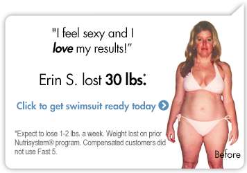 I feel sexy and I love my results!-Erin S. lost 30 lbs. Click to get swimsuit ready today.