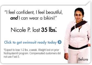 I feel confident, I feel beautiful, and I can wear a bikini!-Nicole P. lost 35 lbs. Click to get swimsuit ready today.