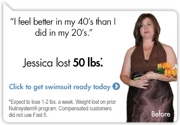 I feel better in my 40's than I did in my 20's-Jessica lost 50 lbs. Click to get swimsuit ready today.