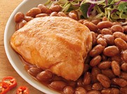 Chicken and BBQ Beans