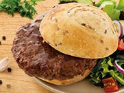 Hickory Smoke Flavored Beef Patty