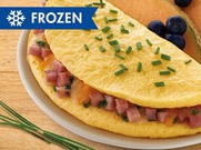 Turkey Ham & Cheese Omelet