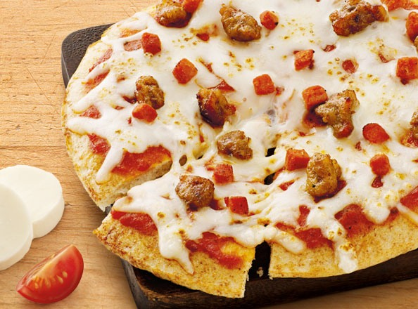 Turkey & Italian Sausage Pizza